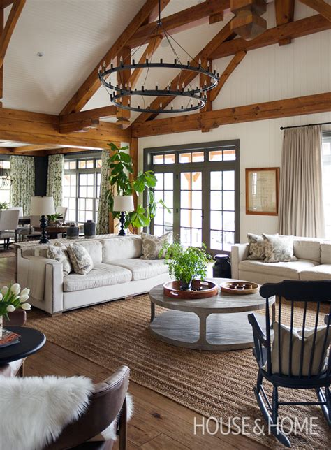 sophisticated country house  traditional decor