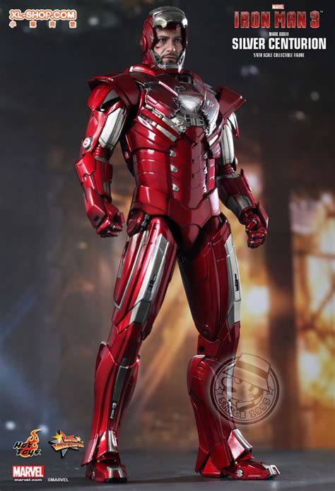Ironman Silver Centurion Misb toys mms213 iron 3 1 6th scale silver centurion xxxiii collectible figurine