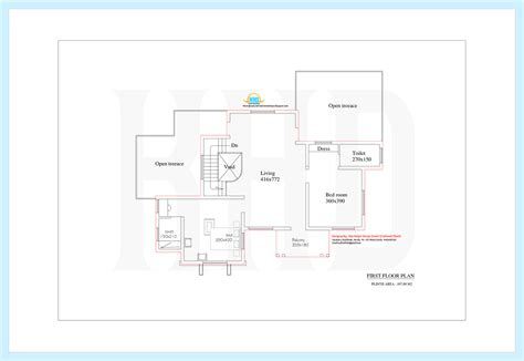 First Floor House Plans In India 3131 Sq Ft 4 Bedroom Nice India House Design With Floor
