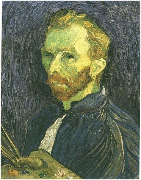 portrait vincent van gogh  painting