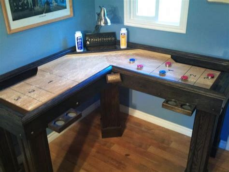 shuffleboard table plans  woodworking projects plans
