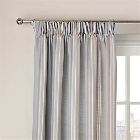 john lewis curtains john lewis alban stripe lined pencil pleat curtains new