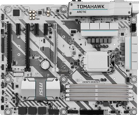 Motherboard Msi H270m Mortar Artic Lga1151 overview for h270 tomahawk arctic motherboard the