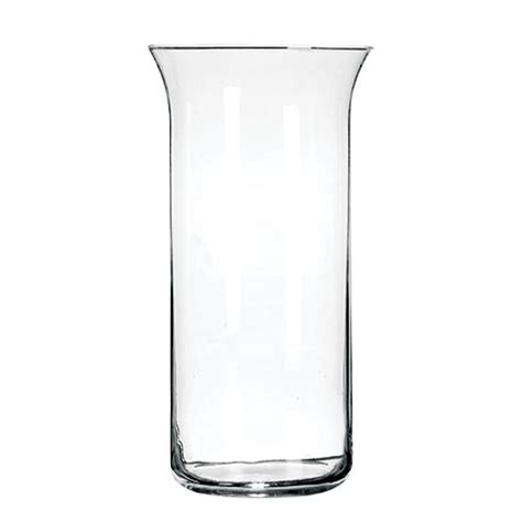 Dollar Tree Glass Vases by Bulk Glass Cylinder Vases With Flared Rims 9 In At Dollartree