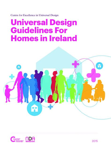 design criteria for homes new publication universal design guidelines for homes in