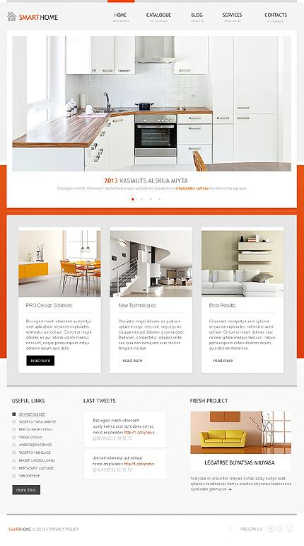 home decor blogs wordpress professional interior furniture website templates entheos