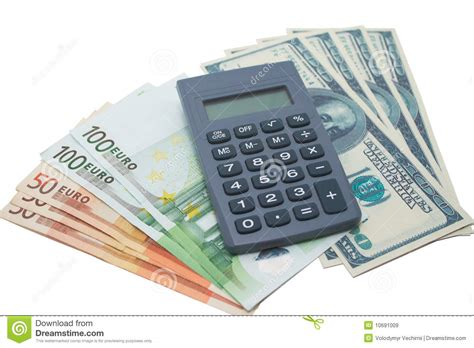 calculator dollar calculator and money royalty free stock images image