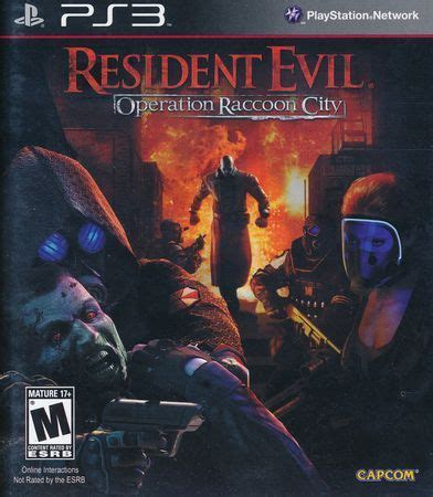 Ps3 Resident Evil Operation Racoon City resident evil operation raccoon city ps3 sony