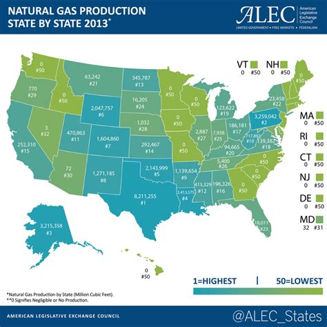 map us by state map gas production in the u s american