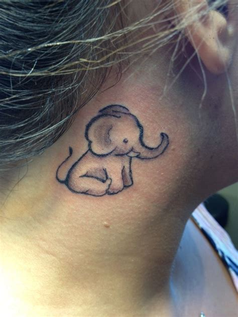 baby elephant tattoo best 25 baby elephant ideas on