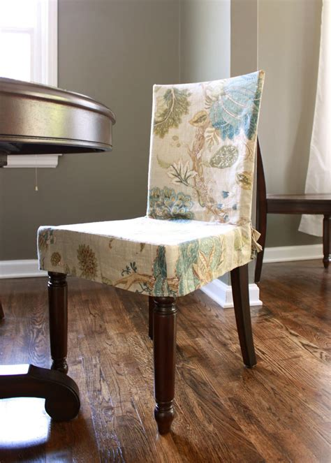 Numbered street designs dining chair slipcover