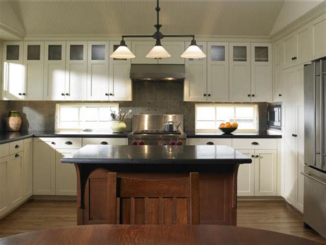 houzz com delorme designs white craftsman style kitchens