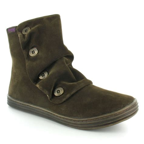 blowfish rabbit womens ankle boots in brown s
