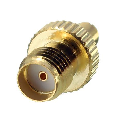 antenna adapter ts male plug  sma female jack rf connector adapter alexnldcom