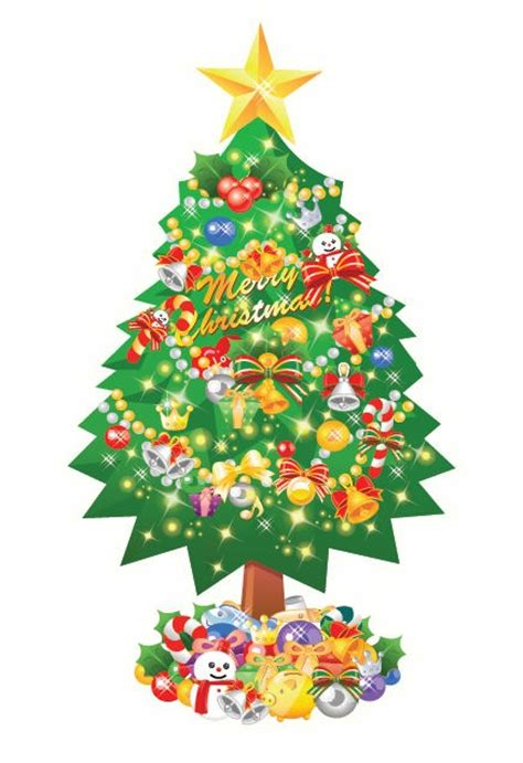 free christmas tree vector collection ipietoon cute blog