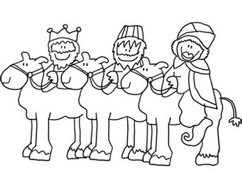 dibujos de navidad para colorear e imprimir reyes magos dibujos para colorear reyes magos reyes pinterest