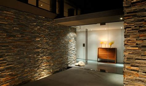 home interior wall interiors with stone and brick work designing