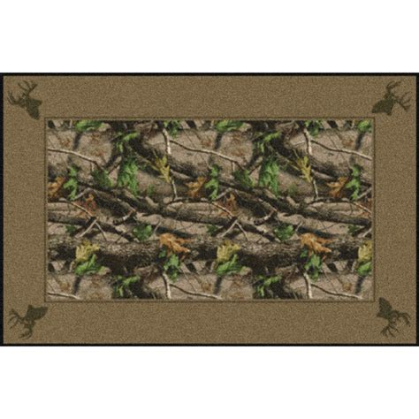 realtree camo rug camouflage area rugs realtree hardwoods green solid border rugs camo trading