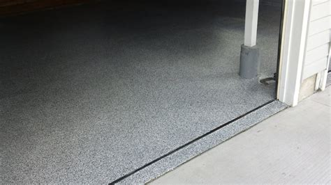 Upgrade your garage floor with Epoxy Flake