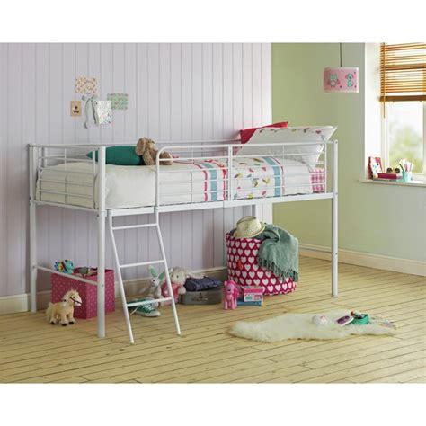 Argos Midi Sleeper by Buy Home Lucas Mid Sleeper Bed Frame White At Argos Co