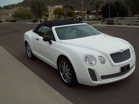 bentley sebring another bentley continental gt replica sells on ebay car