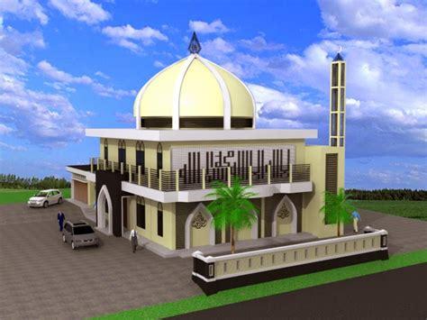 desain gambar masjid desain masjid minimalis desain properti indonesia