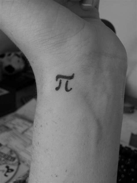 pi tattoo amazing small pi on wrist