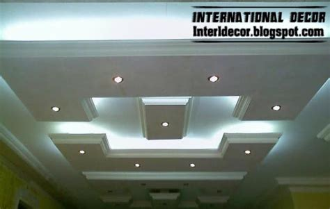 roof decoration classic gypsum plaster roof in spanish designs calm gypsum roof designs
