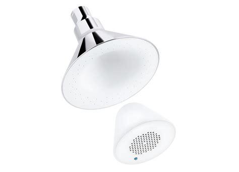 Kohler Shower Speaker by Kohler K 9245 Cp 2 5 Gpm Moxie Showerhead And Wireless