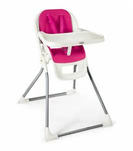 mamas papas pixi high chair pink