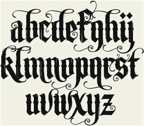 tattoo lettering lowercase different graffiti alphabet fonts lowercase style 1