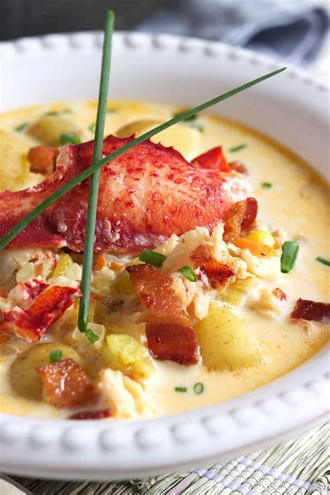 lobster corn lobster corn chowder recipe