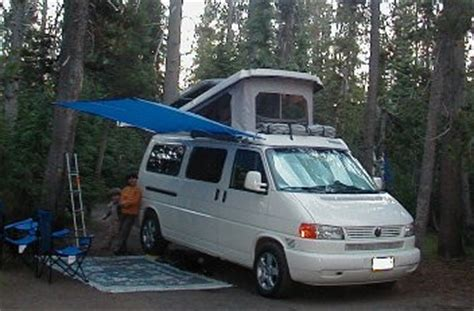 shady boy awning shady boy awning on a vw eurovan 071604 crater lake or country homes cers