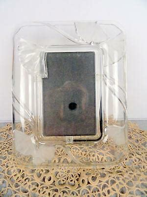 mikasa crystal picture frame ebay