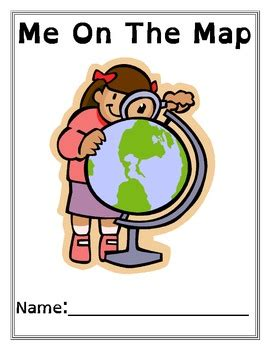me on the map me on the map book and quiz freebie by stephen wolfe tpt