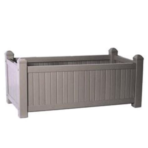 earthbox accessories large mocha pvc planter box cover