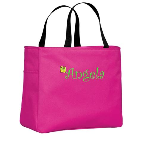 cute cheap monogrammed personalized beach bags  totes