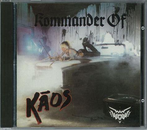 Kaos Burton High Quality Lp wendy o williams kommander of kaos cd album at discogs