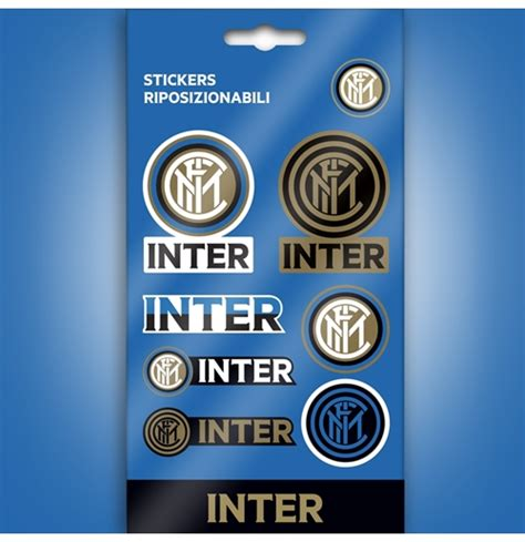 Stiker Set Intermilan fc inter milan sticker 282715 for only 163 2 54 at merchandisingplaza uk