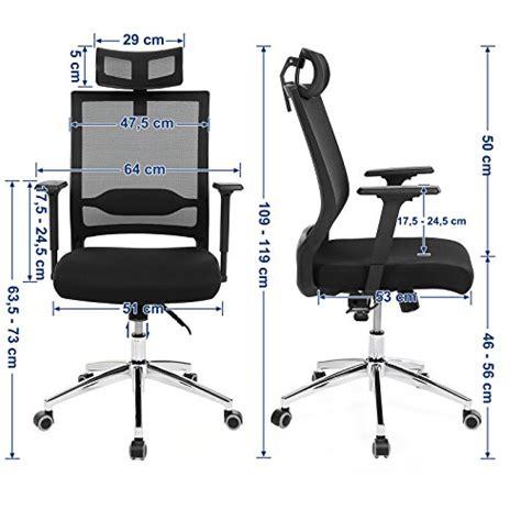 fauteuil de bureau avec appui tete songmics fauteuil de bureau avec appui t 234 te accoudoirs