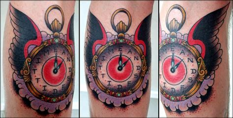 clock tattoo the laughing hyena torch the laughing hyena