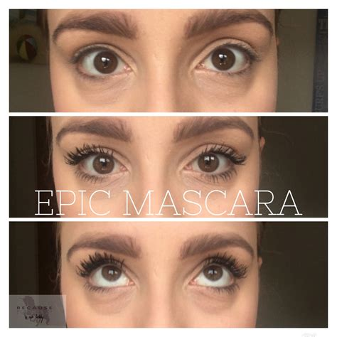 Maskara My younique epic mascara brand new 2017 product www becausemakeupisourhobby my looks