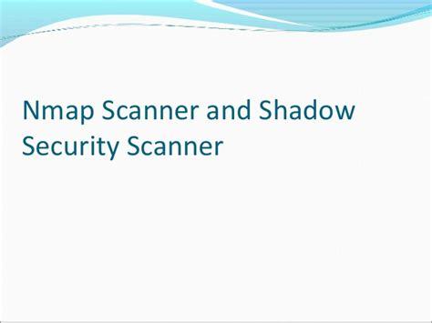 nmap port scanner port scanning