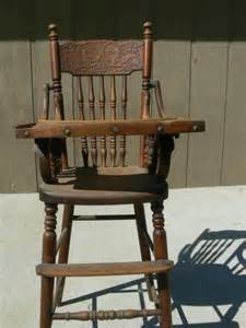 Antique unicorn carved wooden high chair antique appraisal