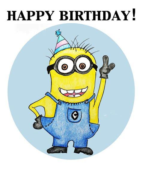 Minions Happy Birthday Card Minion Holidays And Observances