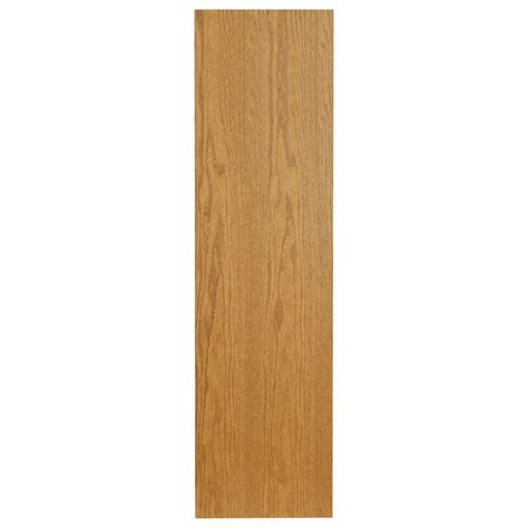 hton bay 90x4 5x0 25 in toe kick in medium oak katk mo