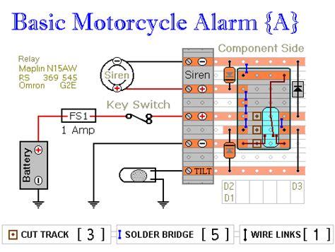 Alarm Remot Mobil two simple relay based motorbike alarms