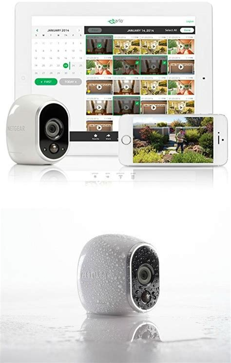 guaranteed home security with arlo smart home getdatgadget