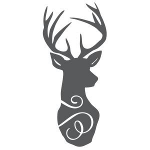 stag head designs silhouette design store view design 132074 stag head