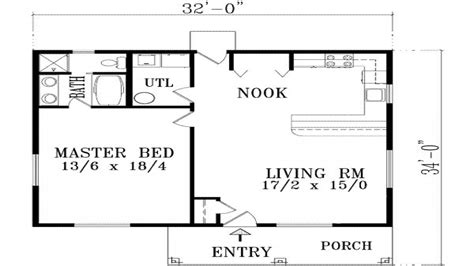 one room cottage plans 1 bedroom house plans with garage luxury 1 bedroom house